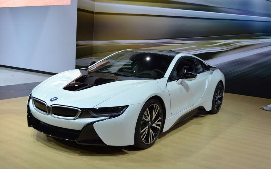 The melody of the BMW i8 picture #4