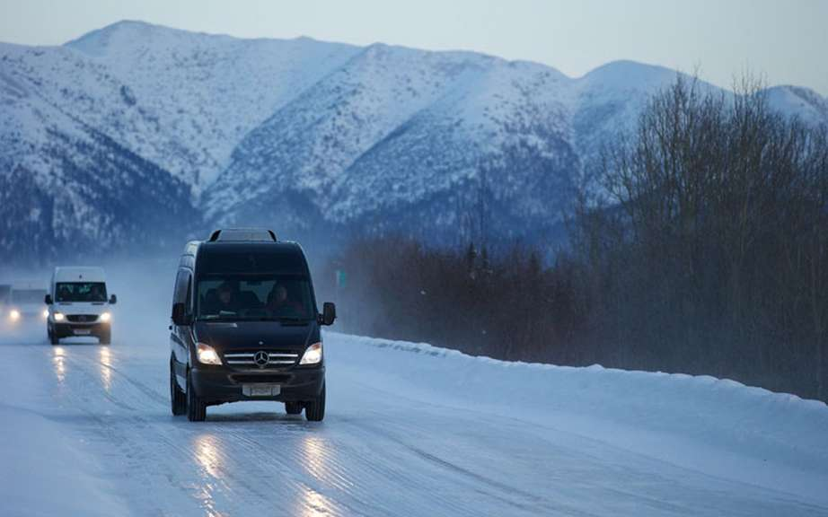 The Arctic Expedition of Mercedes-Benz Sprinter picture #4