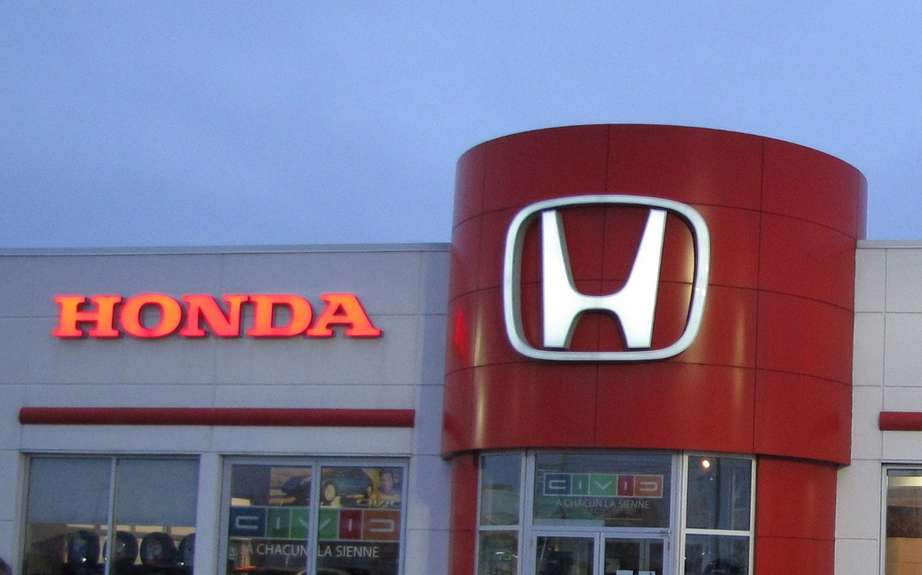 The Honda quarterly profit jumps 63 percent