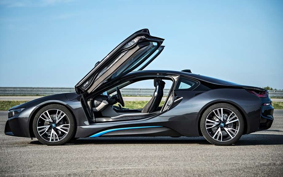 The melody of the BMW i8 picture #5