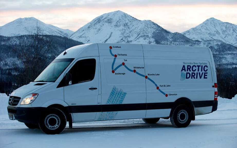 The Arctic Expedition of Mercedes-Benz Sprinter picture #5