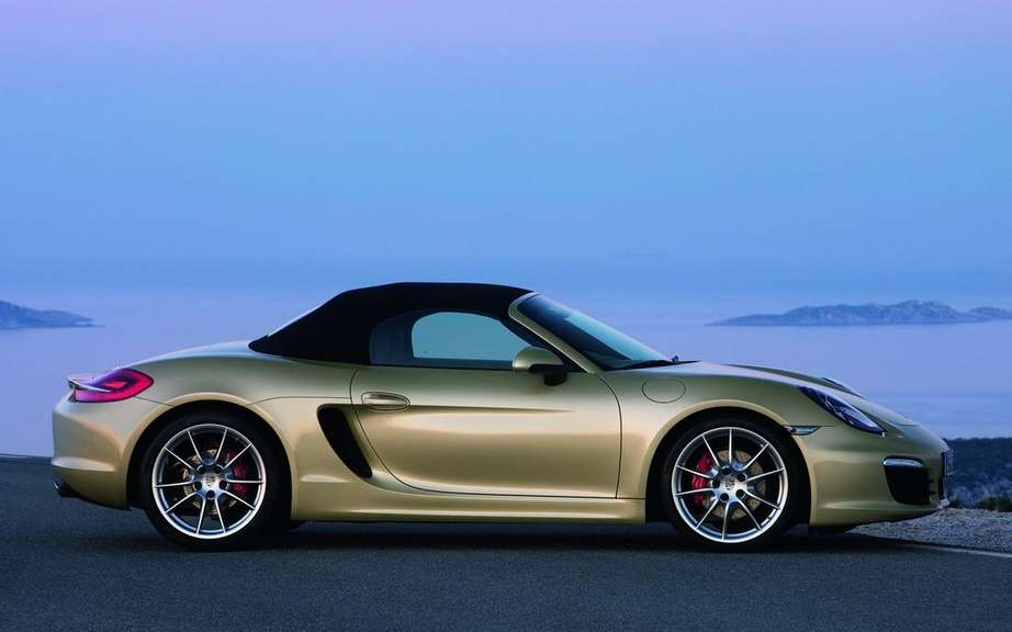 "The Porsche Boxster is the best Appointee ""sports car"" for 2013 picture #5"