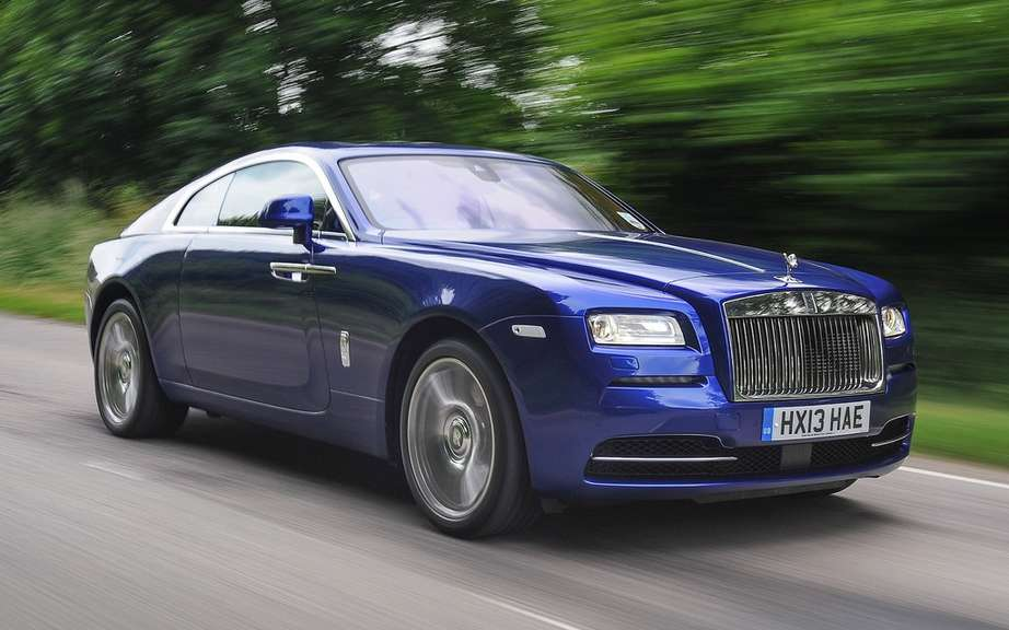 Rolls Royce Wraith: Ghost in the cut version