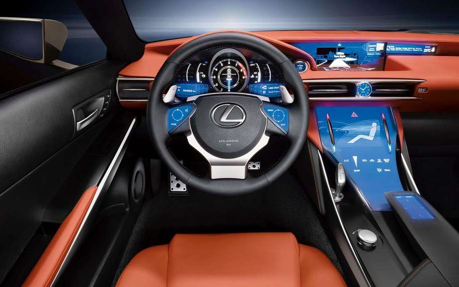 Lexus F RC: remember a name picture #4