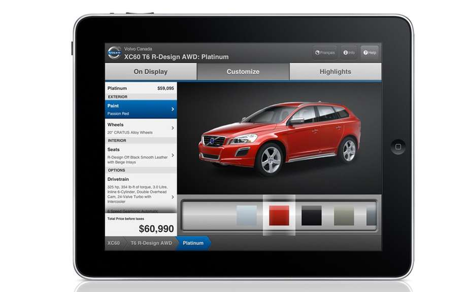Personalize your Volvo thanks WhereCloud picture #1