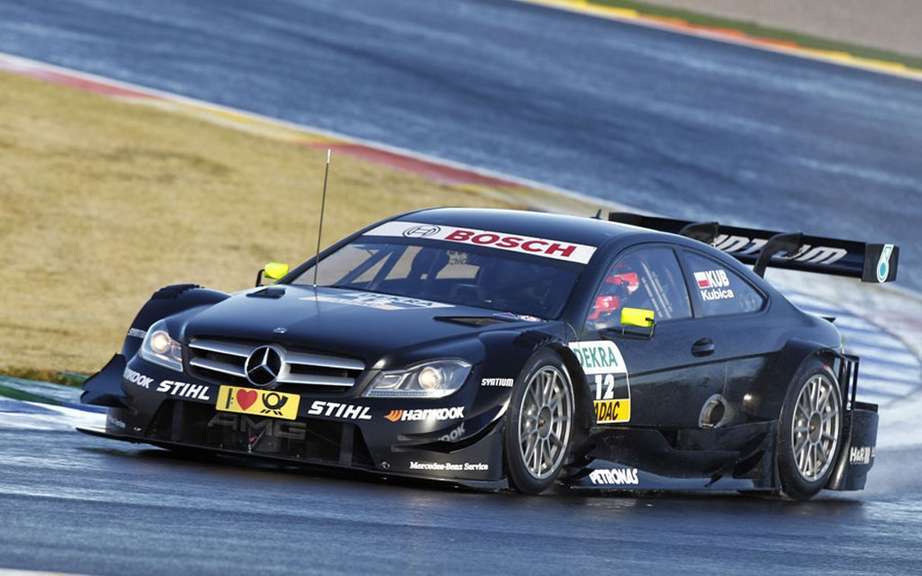 Former piolte F1 Robert Kubica will be driving a Mercedes DTM