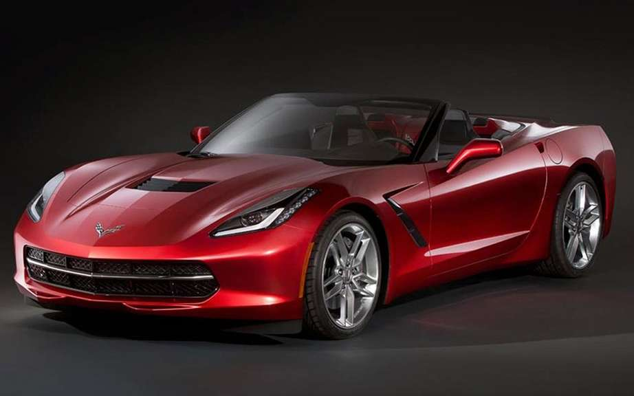 Chevrolet Corvette Stingray Convertible: unveiled in miniature picture #2