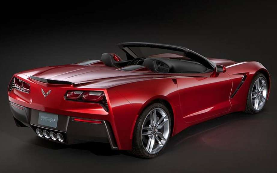 Chevrolet Corvette Stingray Convertible: unveiled in miniature picture #3
