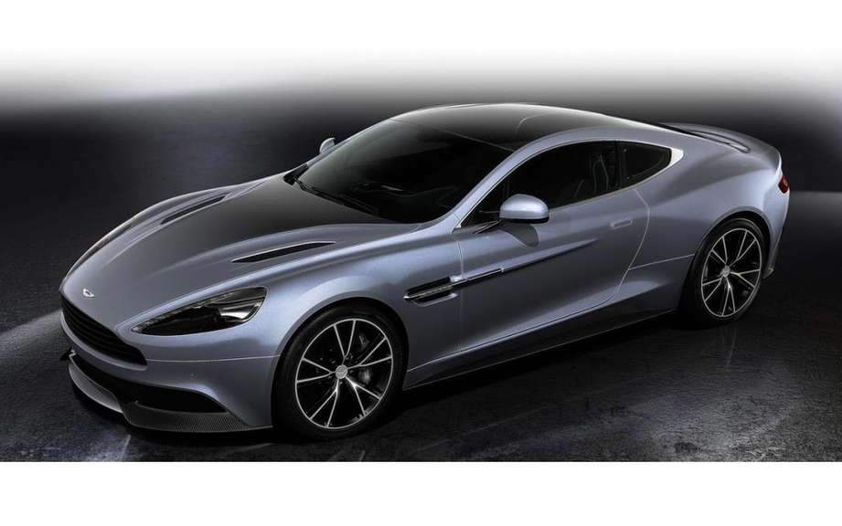 Aston Martin presents its models Centenary Edition picture #2