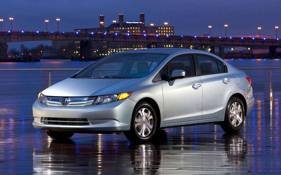 Honda Civic: always the best-selling car in Canada