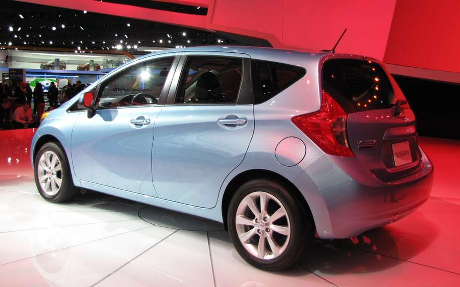 Nissan Note 2: the future Versa hatchback picture #2