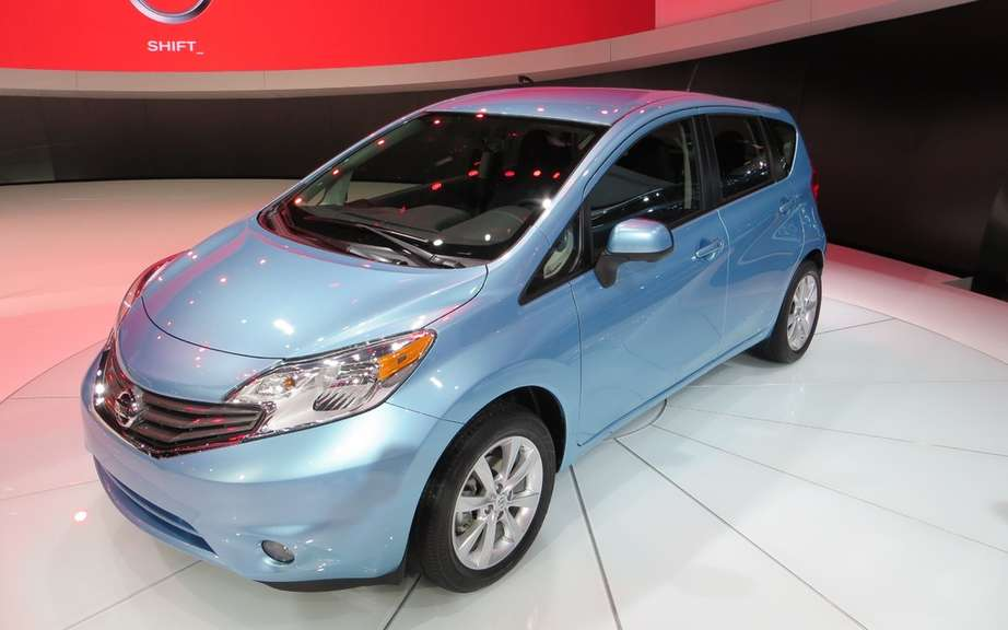 Nissan Note 2: the future Versa hatchback picture #4
