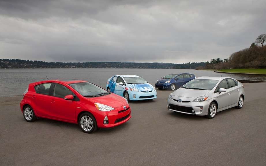 Toyota Canada has never sold as hybrids