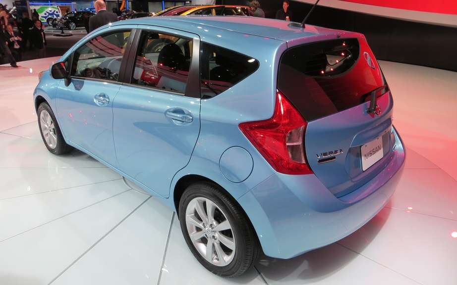 Nissan Note 2: the future Versa hatchback picture #6
