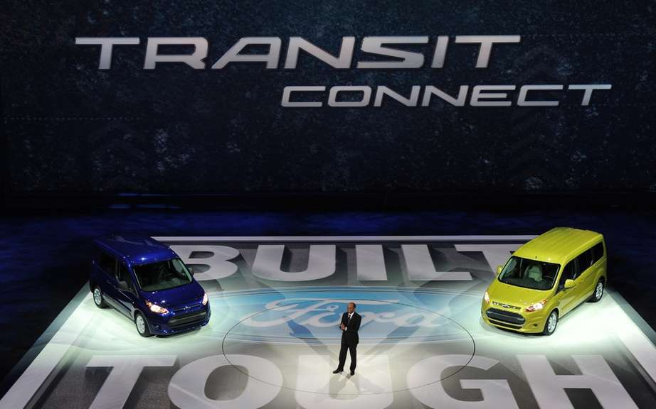 Ford Transit Connect Van Transit: new utilities for global generation picture #2
