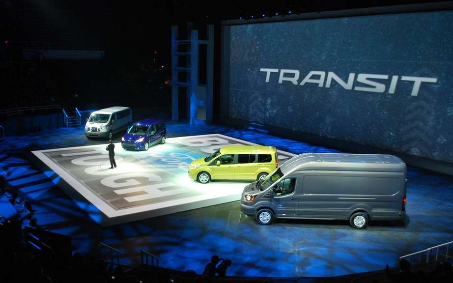 Ford Transit Connect Van Transit: new utilities for global generation picture #3