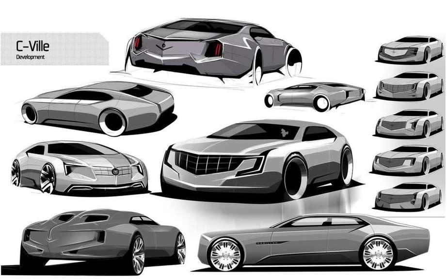Cadillac C-Ville: in the imagination of Samir Sadikhov picture #8