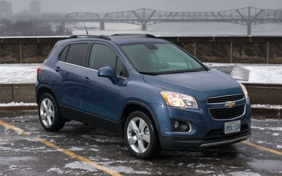 Chevrolet Trax 2013: from $ 18,495 picture #1
