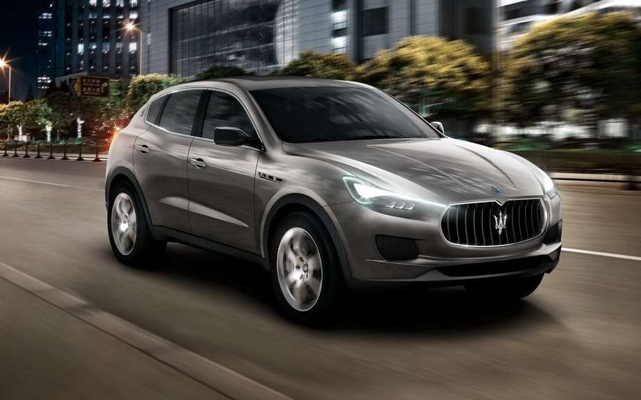 Maserati already speaks of a compact SUV