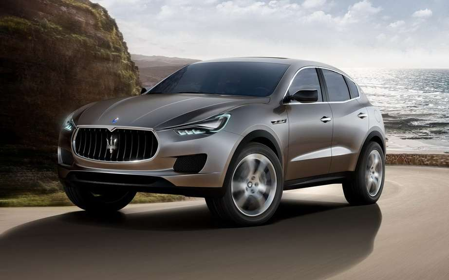 Maserati already speaks of a compact SUV picture #2