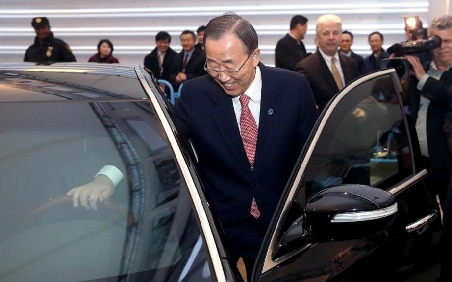 Armored Hyundai Equus: a Christmas present for Ban Ki-moon