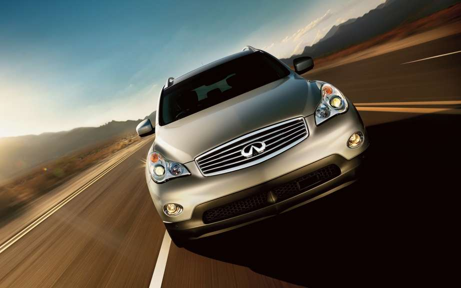 Infiniti exchange denomination for its 2014 models