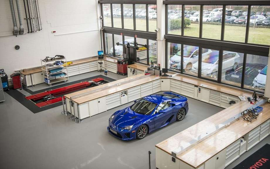 Lexus LFA: end of series production of 500 vehicles