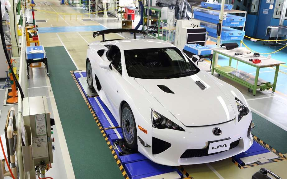 Lexus LFA: end of series production of 500 vehicles picture #2