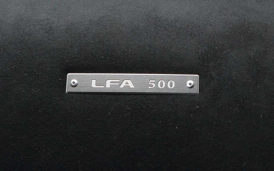 Lexus LFA: end of series production of 500 vehicles picture #3