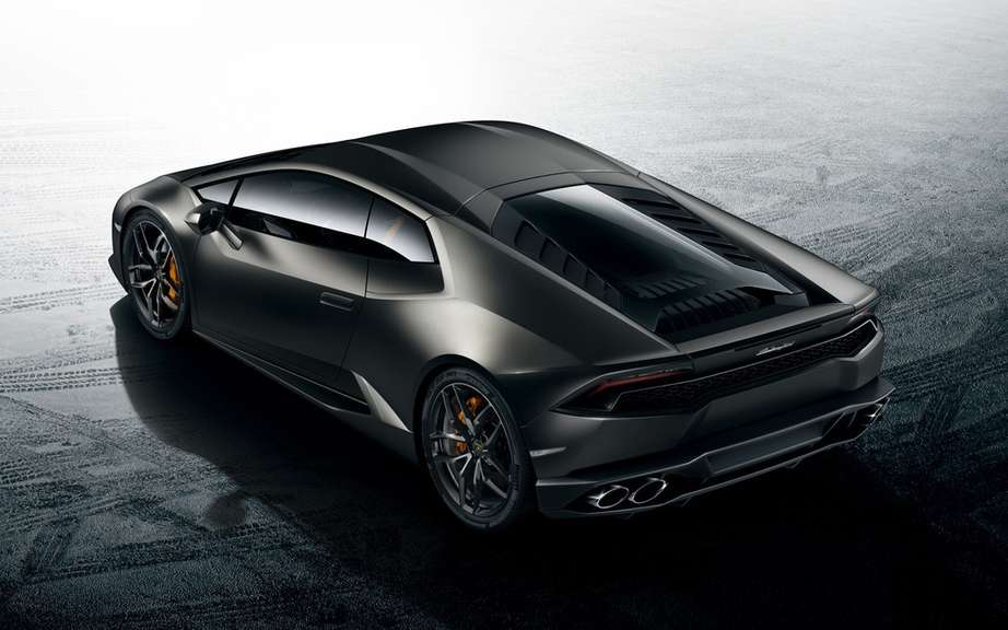 Lamborghini launches the browser of the Huracan LP 610-4 picture #5