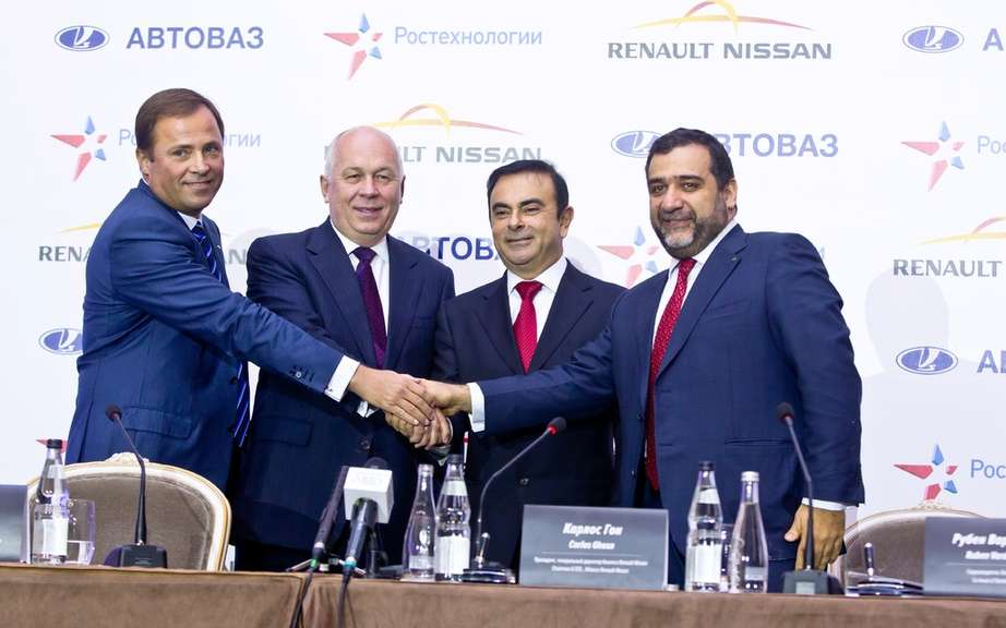 Renault-Nissan and Russian Technologies finalize the partnership agreement with AvtoVAZ