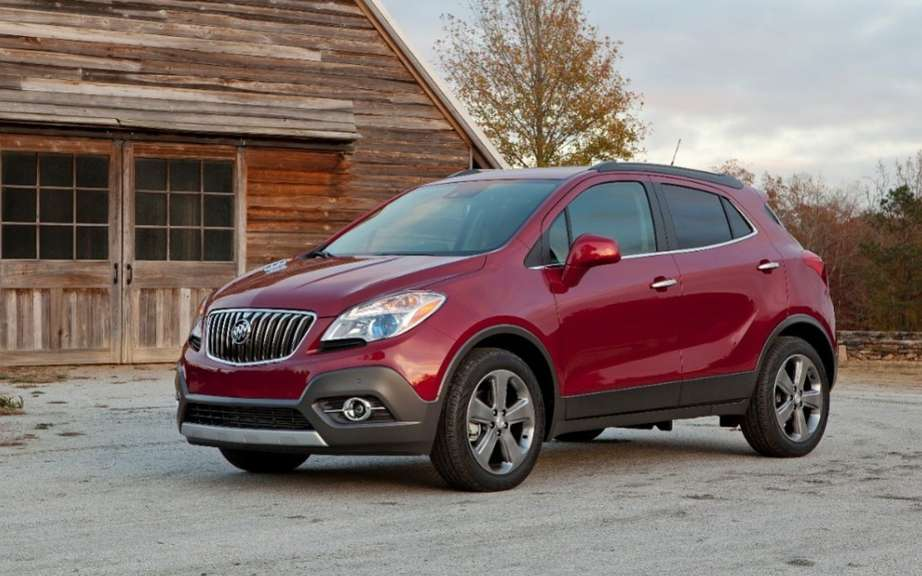 Buick Encore: sold from $ 26,895 in Canada