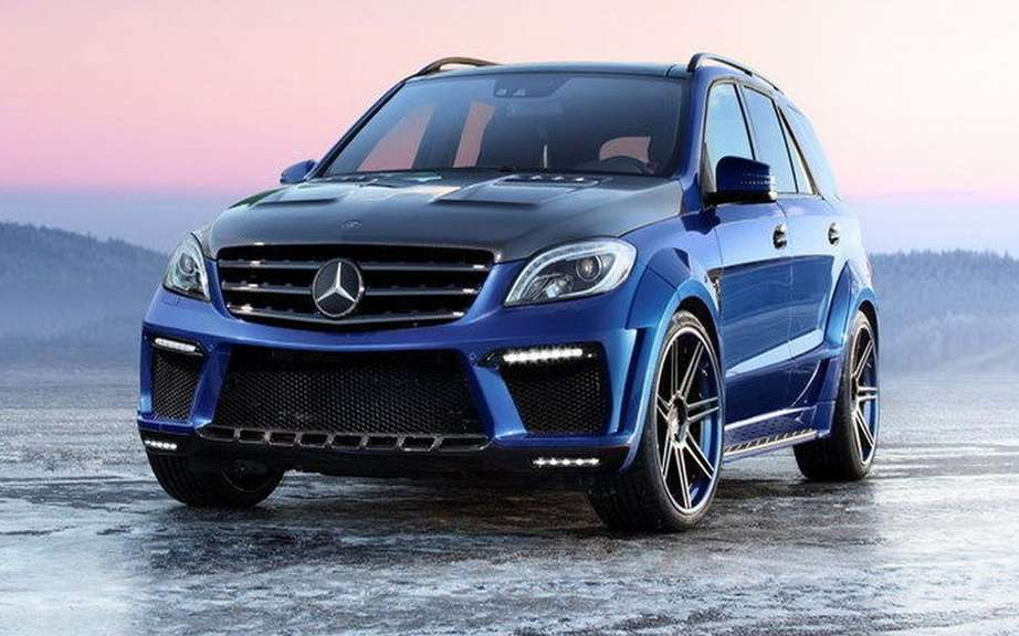 TopCar impresses with its ML 63 AMG Inferno