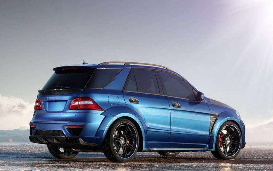 TopCar impresses with its ML 63 AMG Inferno picture #2