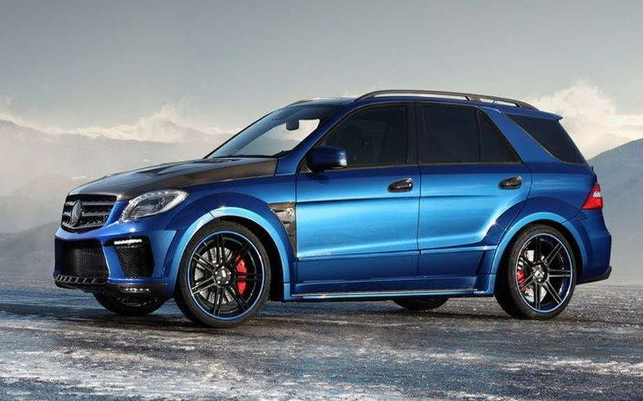 TopCar impresses with its ML 63 AMG Inferno picture #3