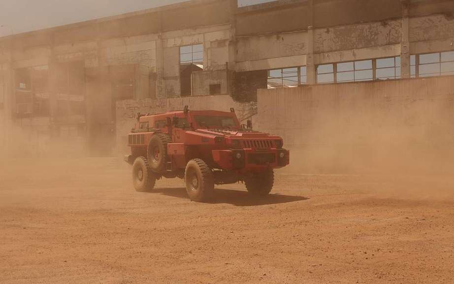 Marauder Armored Vehicle: Top Gear did we know picture #2