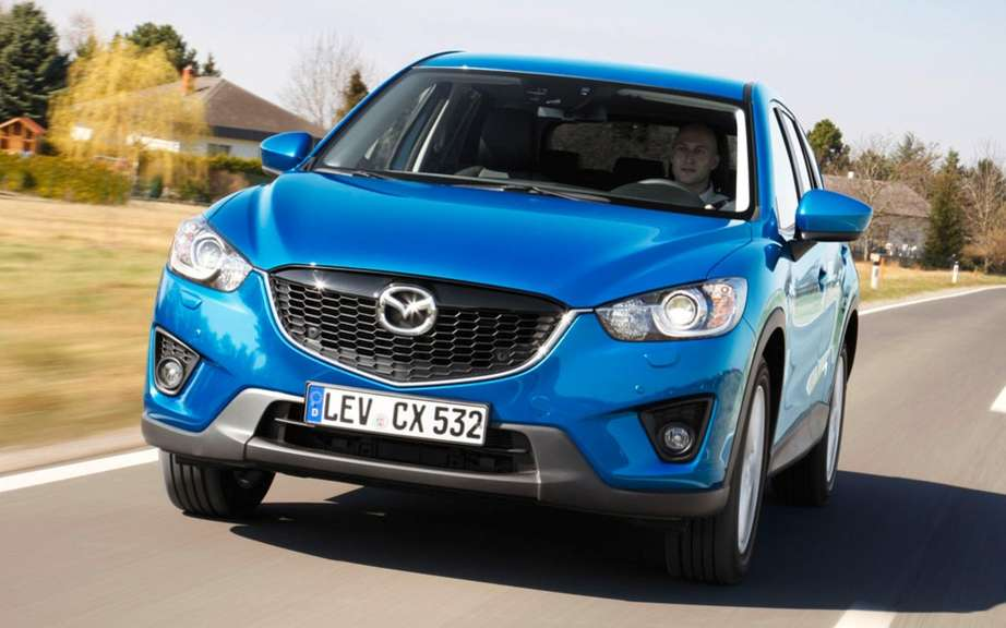 Mazda CX-3: after the CX-5, CX-7 and CX-9
