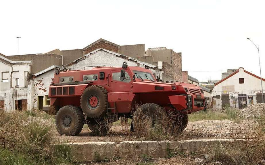 Marauder Armored Vehicle: Top Gear did we know picture #3