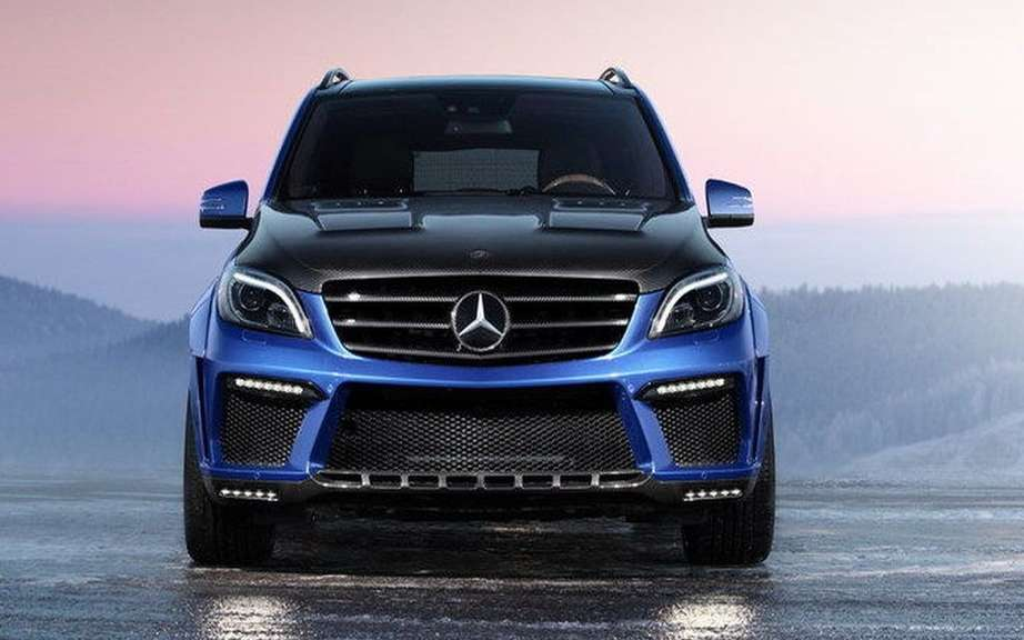 TopCar impresses with its ML 63 AMG Inferno picture #5