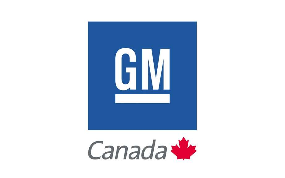 Sales of GM Canada in November