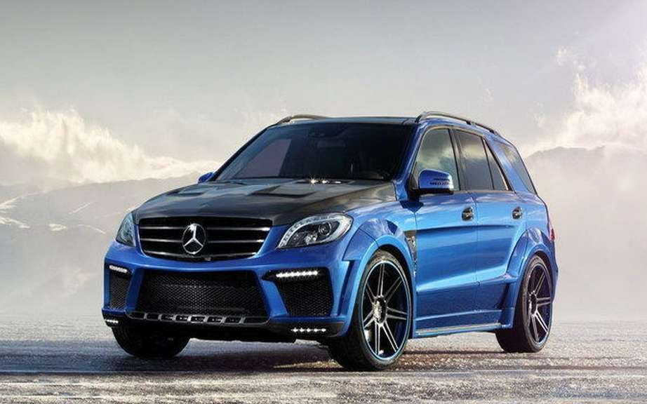 TopCar impresses with its ML 63 AMG Inferno picture #6