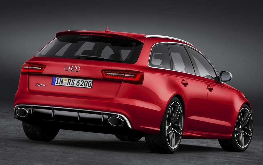 Audi RS6 Avant: Family outrageous sports picture #2