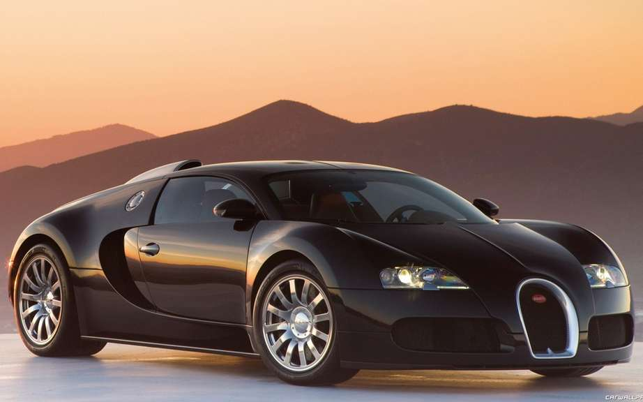Bugatti Veyron Grand Sport Venet: alone in the universe
