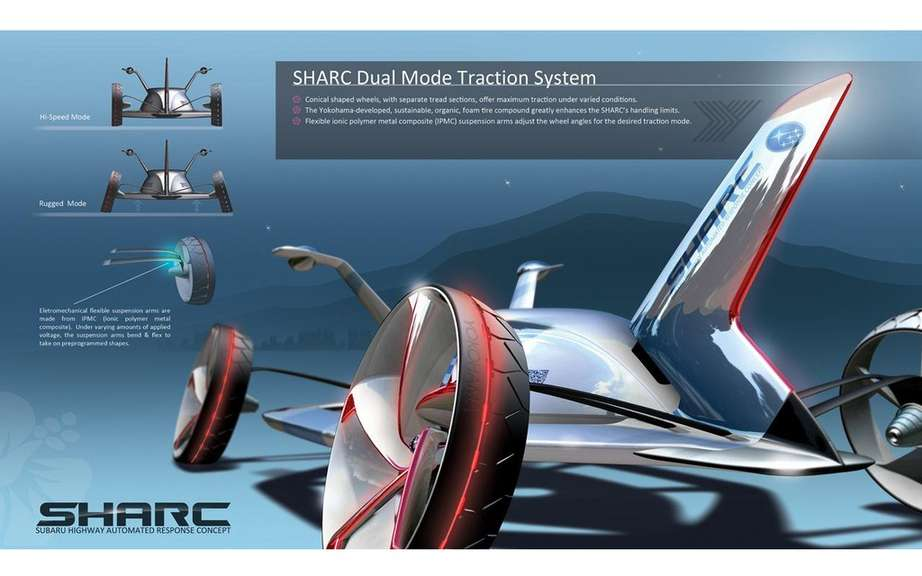 Subaru wins LA Design Challenge with its project SHARC picture #2