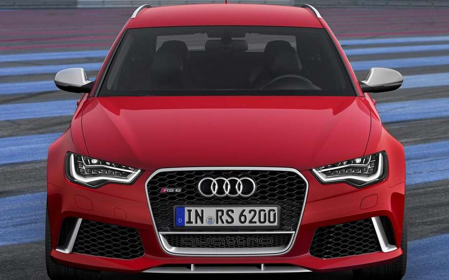 Audi RS6 Avant: Family outrageous sports picture #3