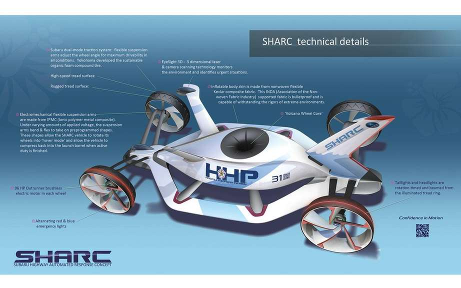 Subaru wins LA Design Challenge with its project SHARC picture #3