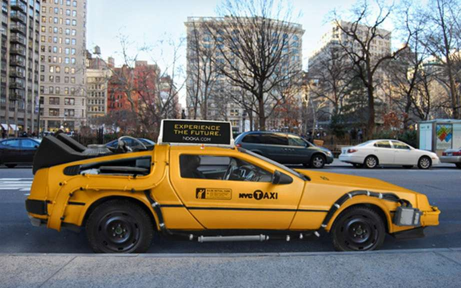 Nooka DeLorean Taxi: another back to the future