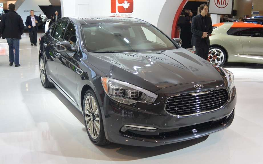 Kia K900: A coreenne in the big leagues