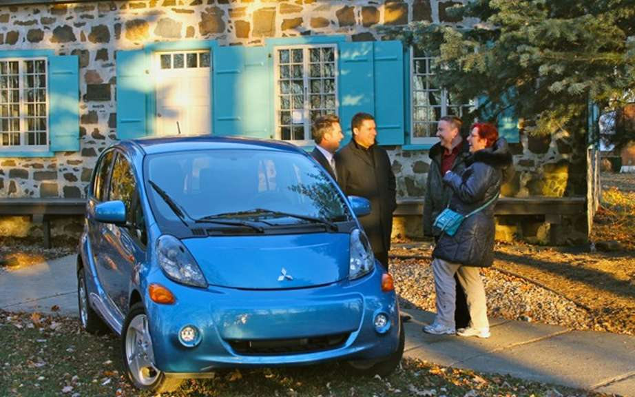 200th fully electric i-MiEV is sold in Quebec