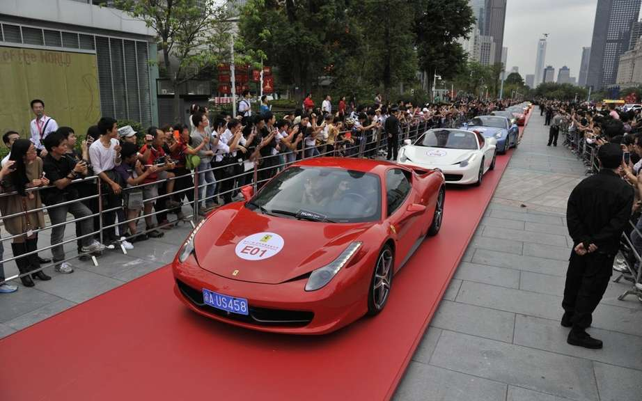 Ferrari celebrates its 20 years in China